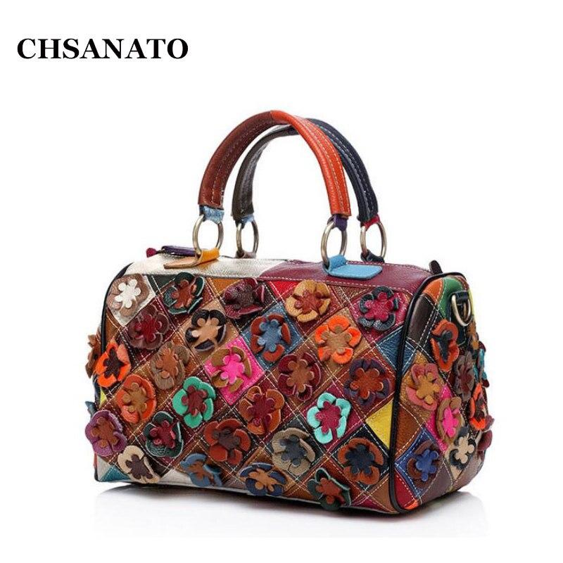 CHSANATO 2018 Genuine Leather Women Shoulder Bag Famous ...