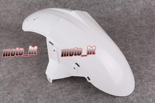 For Kawasaki Ninja 2005 ZX6R & 2004-2005 ZX10R Motorcycle Front Fender Faring Injection Mold Parts Unpainted White Plastic iso ts16949 cnc machinery parts plastic mold