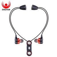 SUNRISE WY S11 Sports Bluetooth Headphones Sweatproof Wireless Earphones Dual Bass Hands Free Headset Stereo Mic