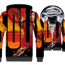 Star Wars Solo Printed Harajuku Movie 3D Hoodies New Style 2019 Winter Warm Jacket Men Casual Long Sleeve Hoody Mens Sweatshirt