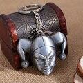 Comando suicida batman harley quinn Payaso Máscara chaveiro Llavero del coche de Metal Anillo de las mujeres llavero colgante del bolso