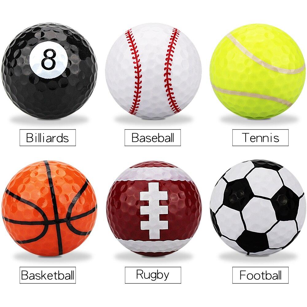 1 Pcs Golf Practice Ball Multicolors Golf Balls Drop Ship(China)