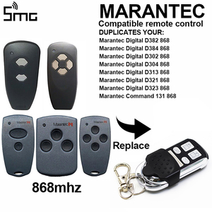 Image 2 - 1PCS 4 channel HORMANN HSE2 868 mhz garage door opener Compatible Hormann HSM2 HSM4 868 MHz door remote control command key