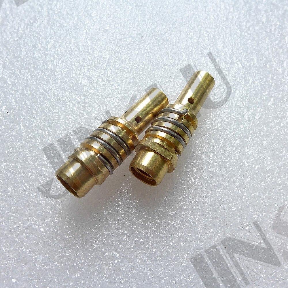 15AK spitze halter 2PK Binzel Stil Shroud Gas CO2 Schild Düse MB 15AK 15 Fackel Verbrauchs Für MIG Schweißer