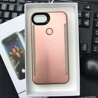 Камера светодиодные лампы для умных случае телефон Selfie свет для iPhone 5 5S 6 6 S 6 плюс 6 6splus 7 7 Plus с 4 модели свет