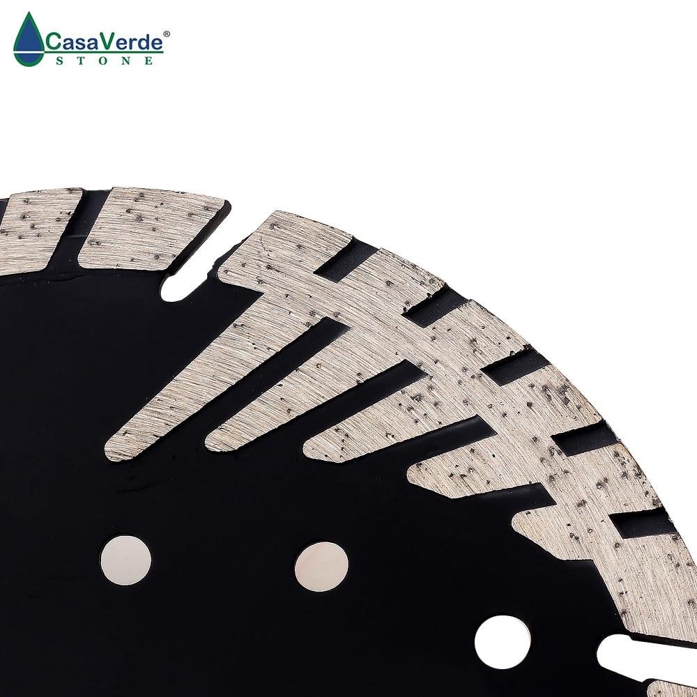 DC-STB5 125mm Circular Diamond Cutting Disc With Slant Protection For Stone Diamond Saw Blade