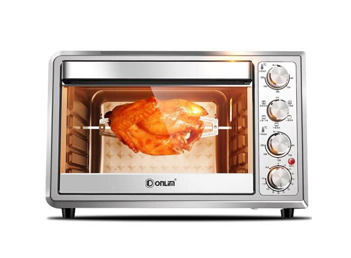 Donlim household electric oven Donlim electric oven home baking oven independent temperature rotation grill oven 38L|oven electric|oven oven|oven baking - title=