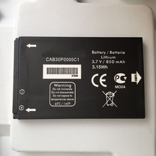 100% New replacement  850mah CAB30P0000C1 Battery For ALCATEL One Touch OT-800 OT-802 OT-808 OT-799 OT-799A OT-802Y OT-E206C