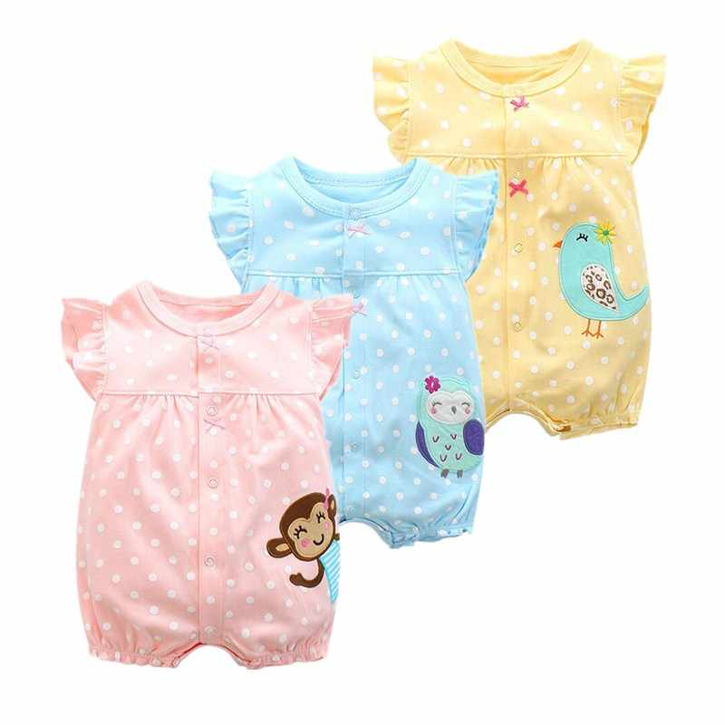 69af900fe8eb4 2018 summer baby girl clothes one-pieces jumpsuits baby clothing , cotton  short romper infant