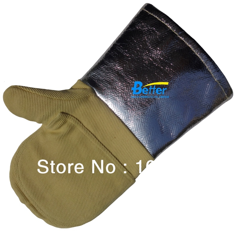 Aramid Fiber Twill Fabric With Aluminium Foil 700 Centigrade Degree Heat Resistant  Work Gloves сумка montblanc 104612