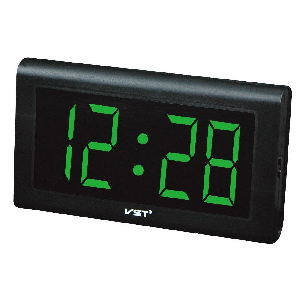 Top qualit silenzioso grande led digitale orologio da parete design moderno plastica orologio - Orologio design parete ...