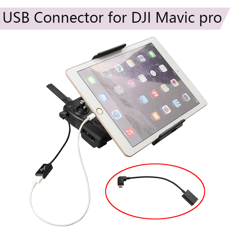 Universal OTG Cable Adapter Tablet Phone Connector For DJI Mavic Pro Platinum Air Mavic 2 Zoom Spark Mavic Mini Drone Accessory