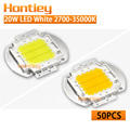 Wholesale 50pcs High Power LED Chip 20W Natural Warm Cold White 2700K-35000K Integration Lamps Spotlight Floodlight New product
