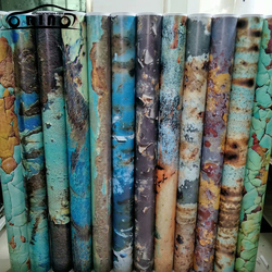 Rusting Vinyl Film Self Adhesive PVC Rusty Car Sticker Wrap Rusty Sticker Bomb Wrap For Auto Car Wrapping Foil Air Bubble Free