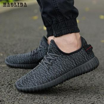 2019 Summer Men Mesh Shoes Loafers lac up Water shoes Walking lightweight Comfortable Breathable Men tenis