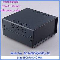 1pcs 150x70x140mm Free Shipping Metal Enclosure Switch Box Diy Iron Electronics Box Instrument Case Housing