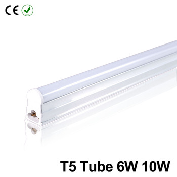 LED Tube T5 Lamp 220V PVC Plastic Fluorescent Light Tube 30/60cm 6/10W LED Wall Lamp Warm Cold White