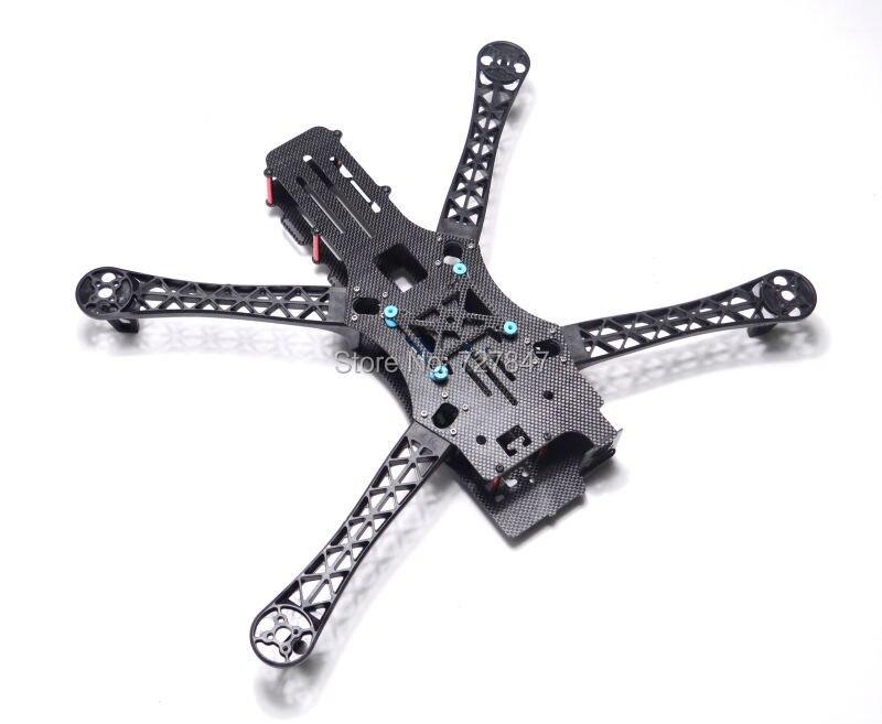 REPTIL MWC X-MODE X500 Vollcarbon Alien Multicopter 500mm 500 Quadcopter Rahmen BlackSheep