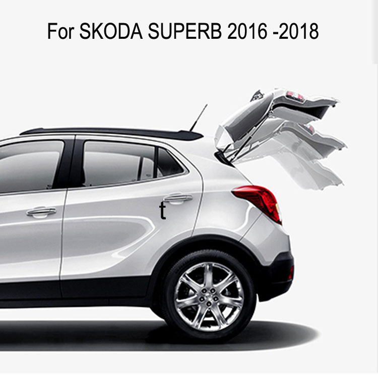 Auto Electric Tail Gate For Skoda SUPERB 2016 Remote Control Car Tailgate Lift