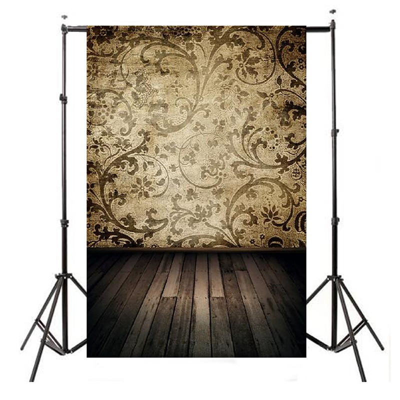 5x7ft Damask Wood Floor Photography Backdrop For Studio Prop Photo Vinyl Photographic Background waterproof 210cm x 150cm 8x8ft black white stripes wall custom vinyl photography background studio photo prop photographic backdrop 2 4m x 2 4m