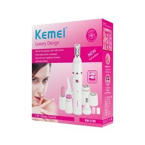 Image 2 - 7in1 female epilator for face women epilator electric facial hair removal eyebrow shaperhair remover chin cheek lip depilation