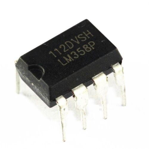 10Pcs LM358P LM358N LM358 DIP-8 OPERATIONAL AMPLIFIERS IC