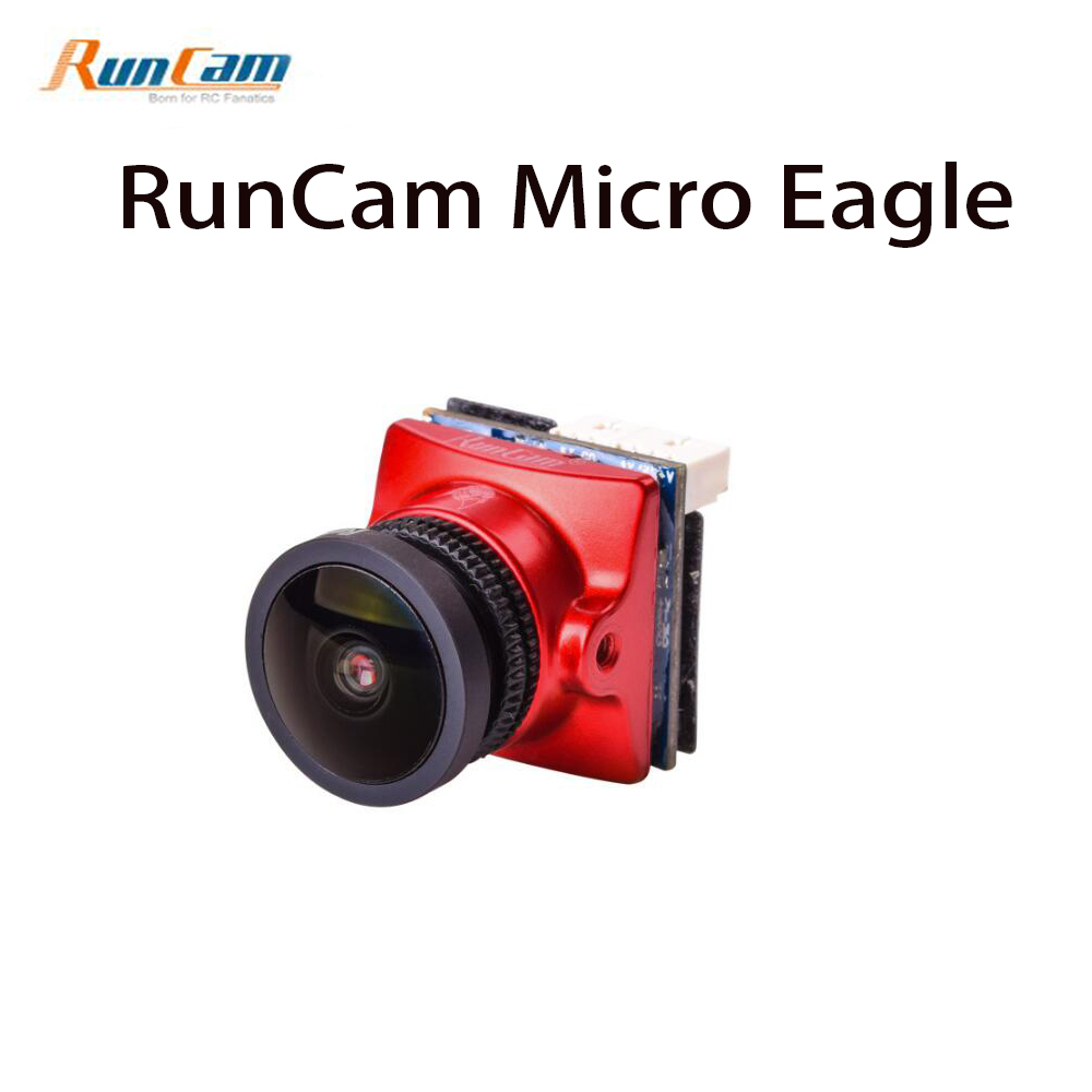 RunCam Micro Eagle 800TVL FPV Camera 1/1.8 CMOS Sensor NTSC / PAL 16:9 / 4:3 Switchable for FPV Quadcopter Racing Drone aomway 700tvl hd 1 3 cmos fpv camera pal