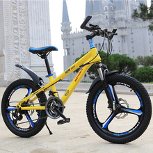 цена на Mountain bike speed bike one round double disc brakes student car lightweight bike ladies 20 inches