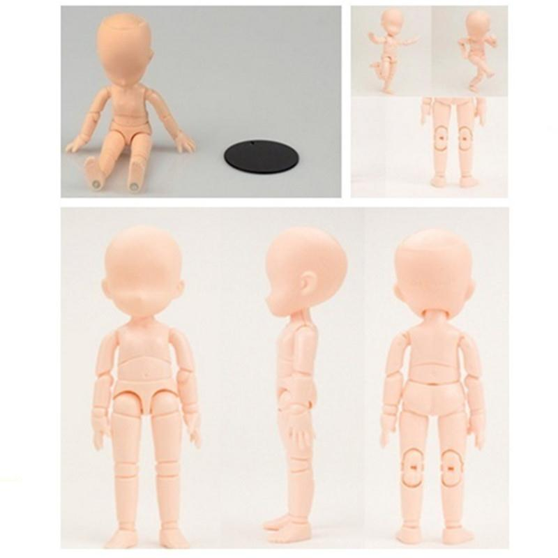 Hot PVC Art Figure Doll Figma Actions Toys Archetype Color Kids Body Sketch Model High Quality Special high quality oversize 52cm bearbrick be rbrick matt diy pvc action figure toys bearbrick blocks vinyl doll 3 color optional