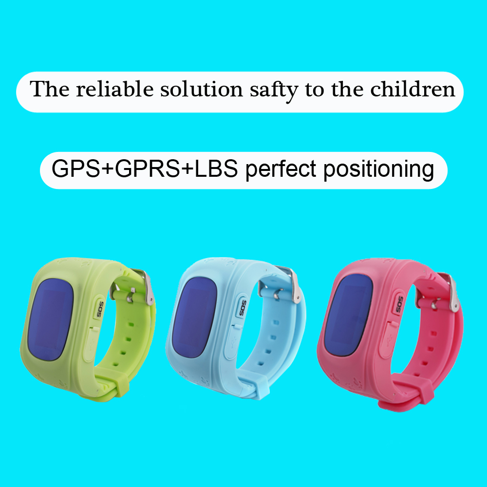 Q50 OLED Child GPS Tracker SOS Smart Monitoring Positioning Phone Kids GPS 003