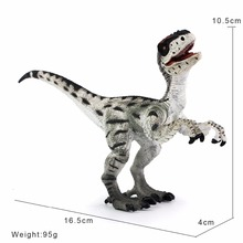Wiben Jurassic Velociraptor Dinosaur Action & Toy Figures Animal Model Collection Learning & Educational Kids Birthday Boy Gift