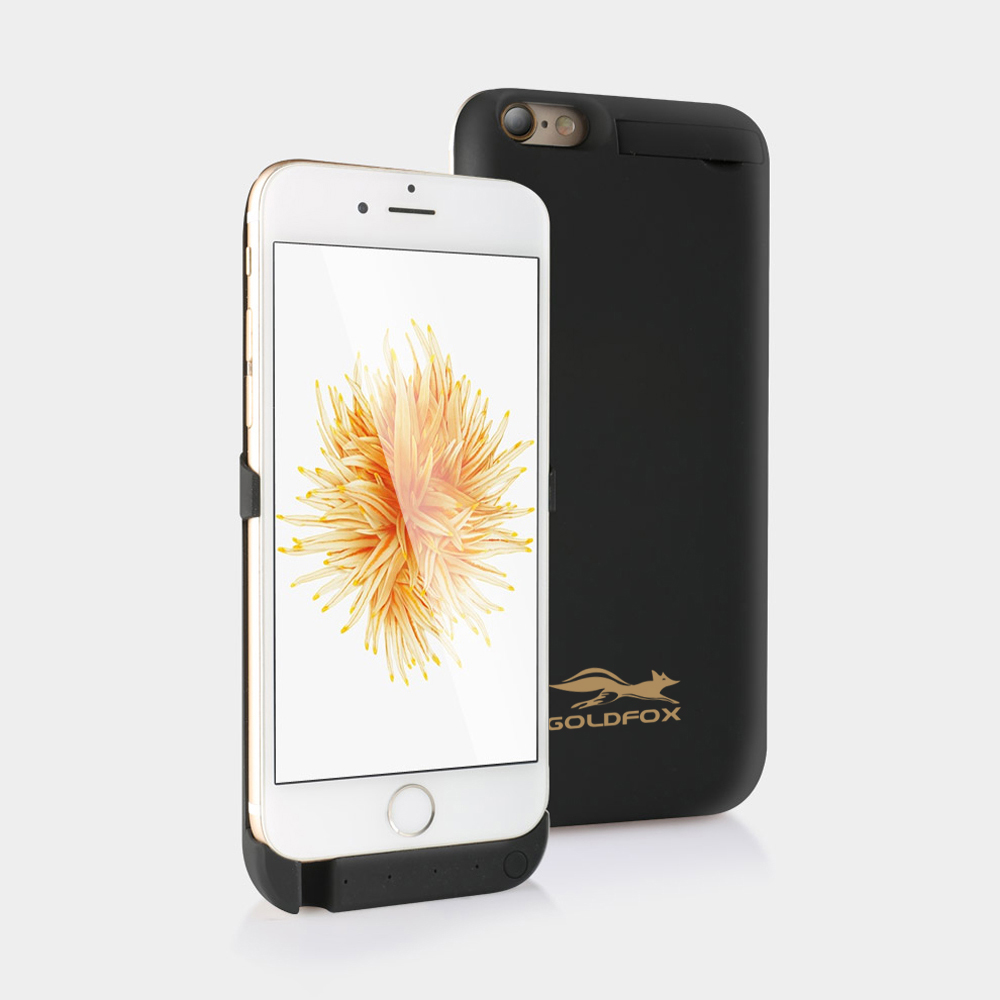 For iphone 6 6s Battery Charger Case 5000mAH External Backup Battery Case Power Bank Pack Charge Back Cover for iphone 6 6S
