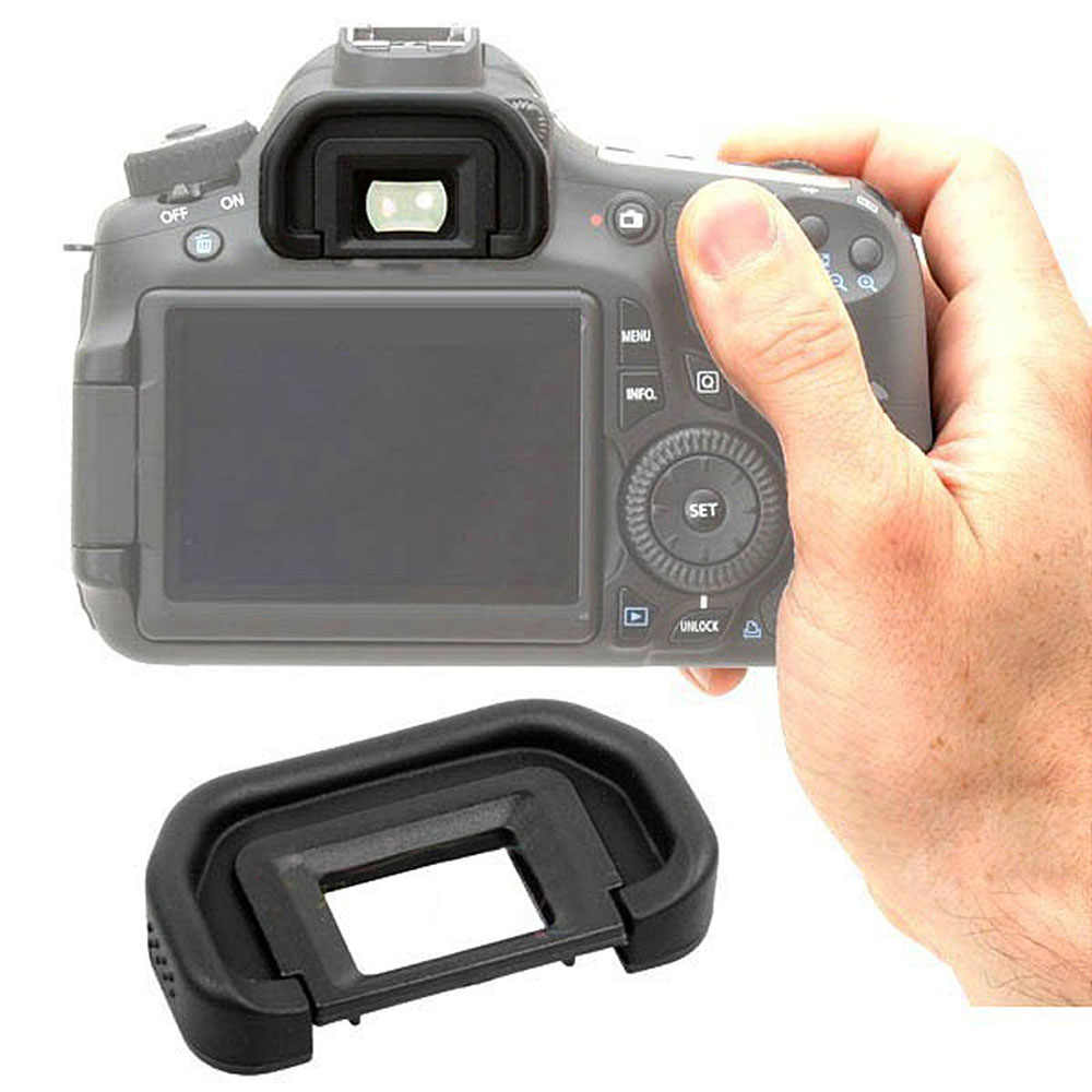 EB المطاط كأس العين عدسة الكاميرا لكانون EOS 6D 70D 60D 60Da 50D 5D مارك II 5D2 40D نظارات