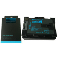 SOULMATE BN-VG114 lithium batteries pack BN VG114 Digital Camera Battery BN VG114 For JVC GZ-E100 GZ-EX210 GZ-EX250 GZ-EX215
