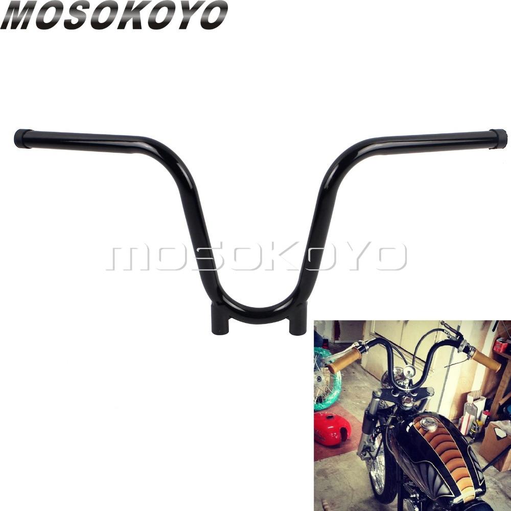 Black Apes 22mm 7//8 Hanger Handlebar Bar for Custom Motorcycle Bicycle Chopper