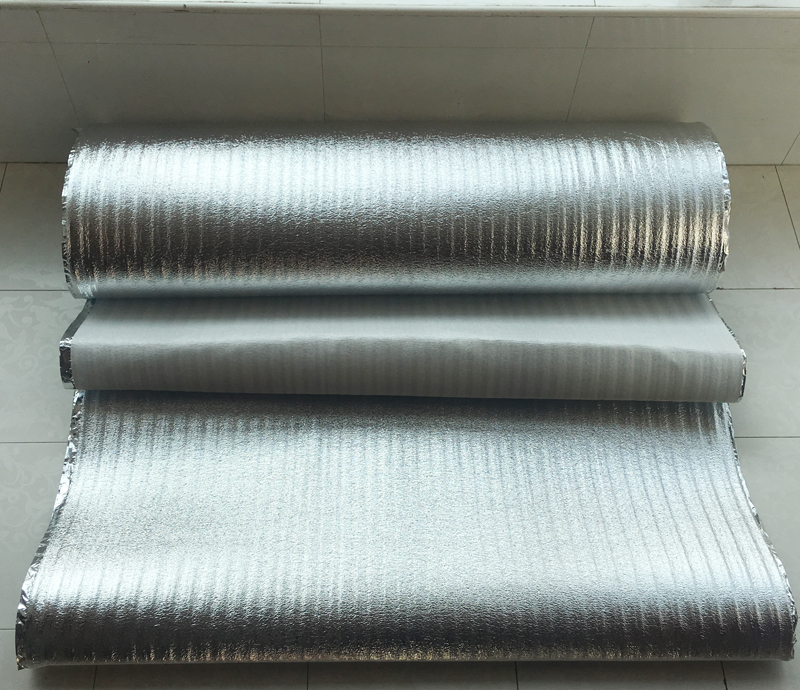 4 Square Meter 0.5m X 8 Meter Insulation Reflecting Film 2mm Thickness Aluminum Foil Reflective Film For Floor Heating