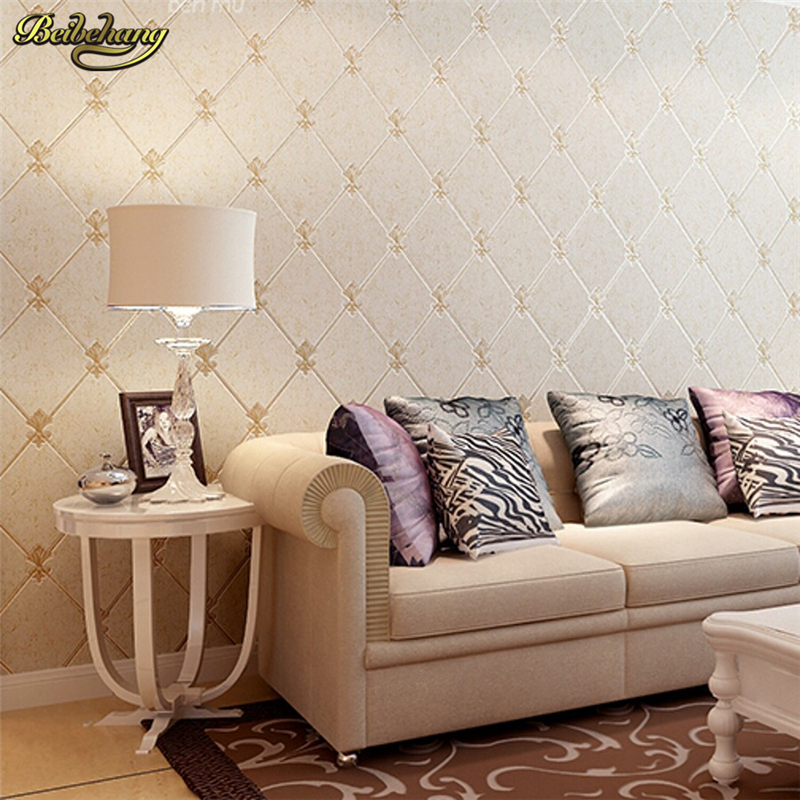 Beibehang marbled mesh suede 3d room wallpaper for walls 3 for Living room paper