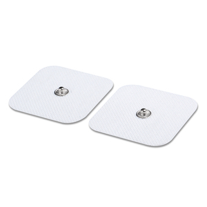 10 Pairs Conductive Electrodes Pads Use For TENS/EMS Unit Size 5cm*5cm With Button 3.5mm