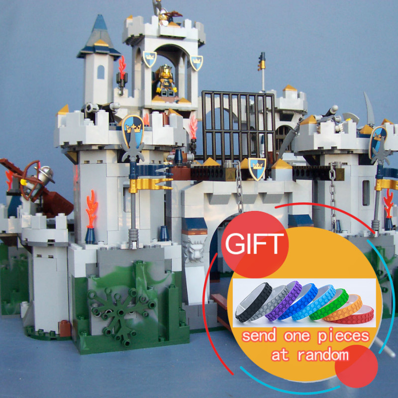 16017 1023Pcs Castle Series The King`s Castle Siege Set Children Building Educational Toys Model Gifts 7094 toys lepin lepin genuine 16017 castle series the king s castle siege set children building blocks bricks educational toys model gifts 7094