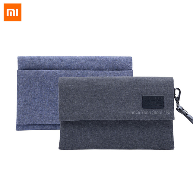 Original Xiaomi Digital Storage Bag Portable Anti Splashing Bag For Adapter  Data Cables Chargers Earphones