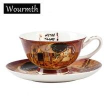Чашки для чая и блюдца Роскошный Британский костяной фарфор