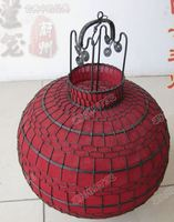 Spherical lantern,Party party decoration items, small gifts,Handmade wrought iron lantern