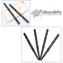 MOONBIFFY Natural Long Lasting Watercolor Waterproof Eyebrow Tattoo Painting Black Eyebrow Pencil Makeup Eyebrow Tint Cosmetics(China)