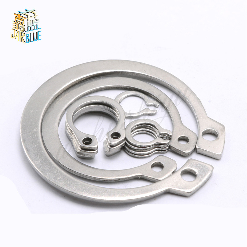 120Pcs/set DIN471 GB894 9/10/11/12/13/14mm 304 Stainless Steel C-type Elastic Ring Circlip Snap Retaining Washer Kit 150pcs 8mm 26mm 304 stainless steel circlip retaining ring snap ring kit