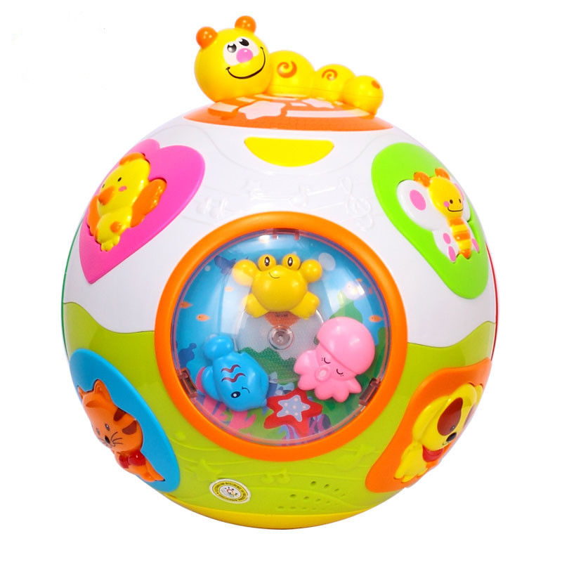 Baby toy baby crawling toys with music and light teaching ...