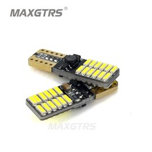 5x 800LM-1000LM T10 W5W CREE Chip 24Led 4014 SMD Canbus Car Auto License Plate Dome Turn Singal Light White/Blue/Ice Blue/Red