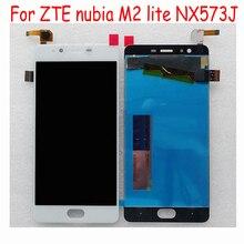 Высокое качество Протестировано для zte nubia M2 lite NX573J ЖК-дисплей и сенсорный экран в сборе аксессуары для телефонов для zte nubia M2 lite