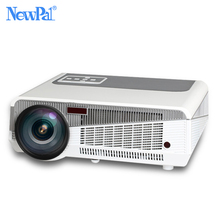 Proyector de TV Analógica Soporte Proyector LED 3000 Lúmenes 1280*800 P MINI Proyector Portable Para El Negocio Casero