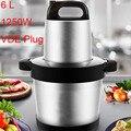 6L промышленная Мясорубка Чоппер автоматический Электрический измельчитель высокого качества бытовой или промышленный кухонный комбайн