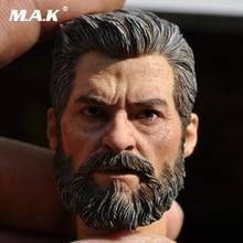 MAK Custom 1/6 Scale Hugh Jackman Head Sculpt Male Headplay Model fit 12